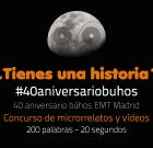"""""""40 años 40 historias"""" de búho en Emt de Madrid"""