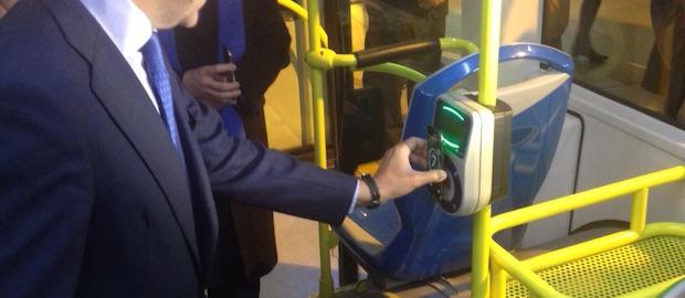 Tecnología NFC de la EMT de Madrid