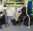 Un respeto por la accesibilidad dentro del autobús