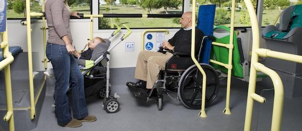 Accesibilidad en la EMT de Madrid