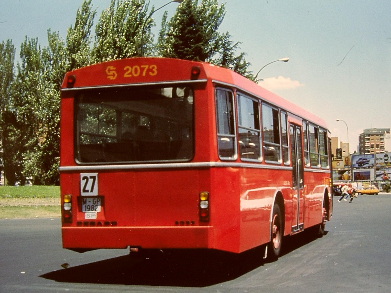 En los autobuses de circuito interior df 9