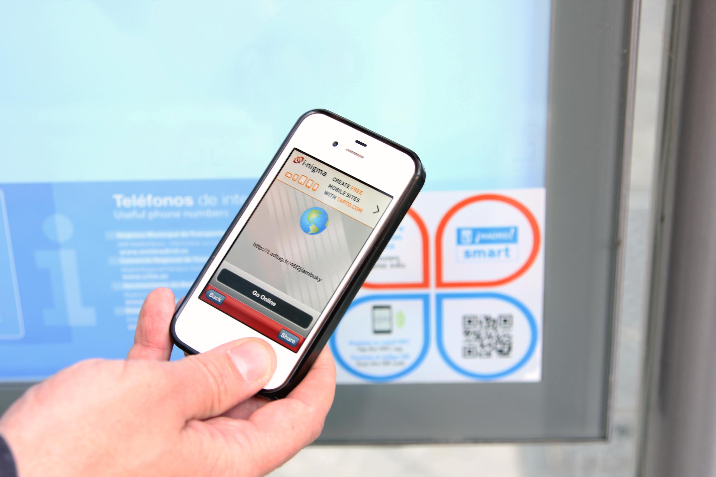 Smart Madrid» llega a las 5.500 paradas de la EMT | El blog de la ...