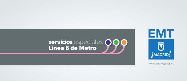Los porqués de los SE que sustituyen a la L8 de Metro