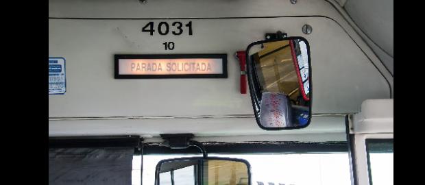 Enajenación de autobuses