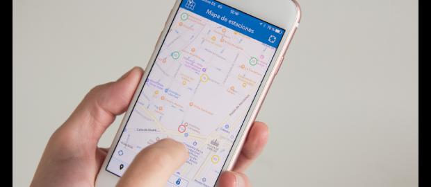 EMT lanza la nueva aplicación oficial de BiciMAD